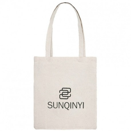 SUNQINYI Reusable Grocery Shopping Bags, Washable Tote Bags, Eco-friendly Cloth Use for Grocery Bags,Book Bags,Canvas Tote Bags Shopping Bags (15.7x13.7in)